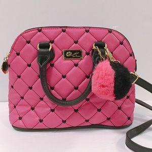 BETSEY JOHNSON LUV BETSEY Crossbody Handbag Pink